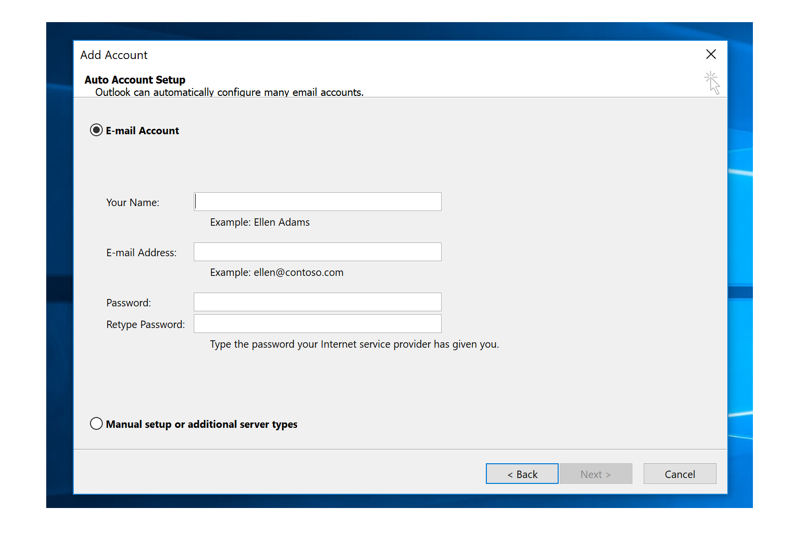 Types Of Email Accounts >> How To Setup Your Nckcn Email Account Using An Email Client On